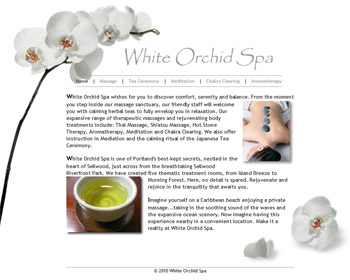 White Orchid Spa image